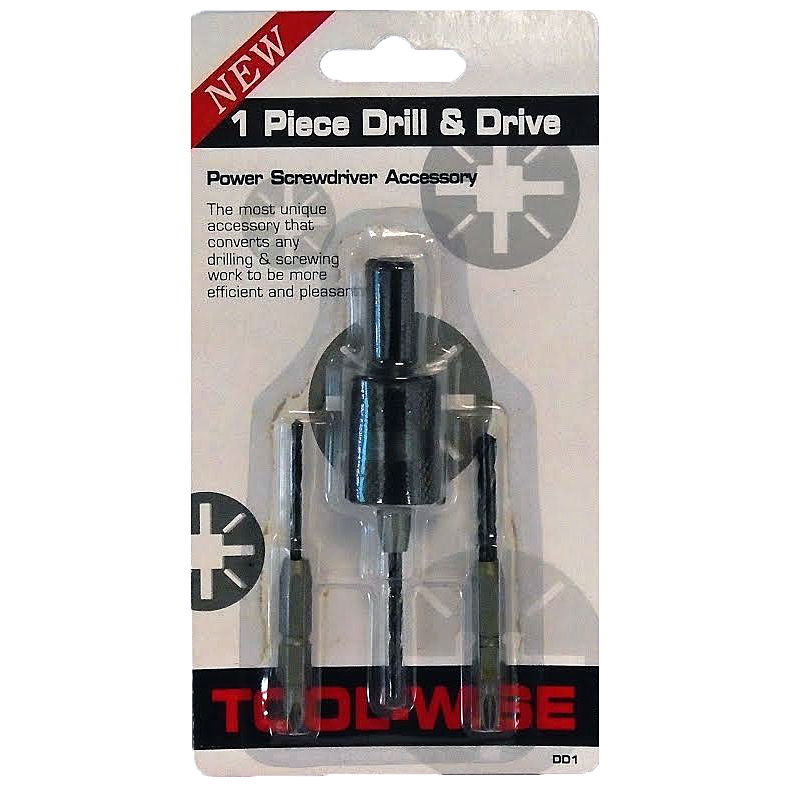 4pc Drill & Drive Set